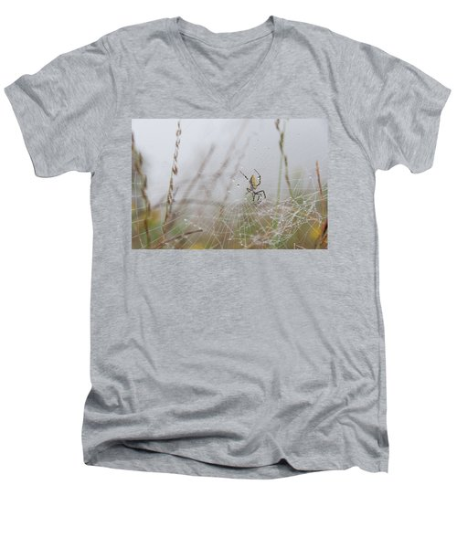 Spl-4 Men's V-Neck T-Shirt
