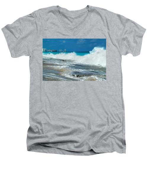 Splash Down Men's V-Neck T-Shirt