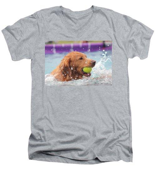 Splashing Around Men's V-Neck T-Shirt