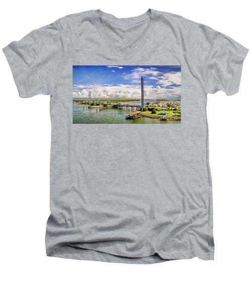 Splendid Bridge Men's V-Neck T-Shirt