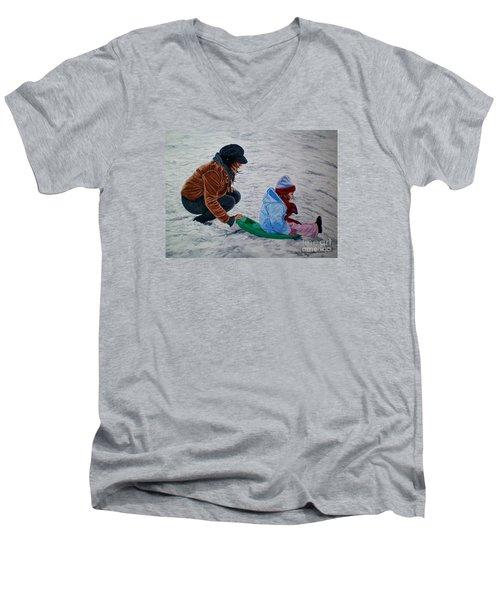 Splendid Journey - Jornada Esplendida Men's V-Neck T-Shirt