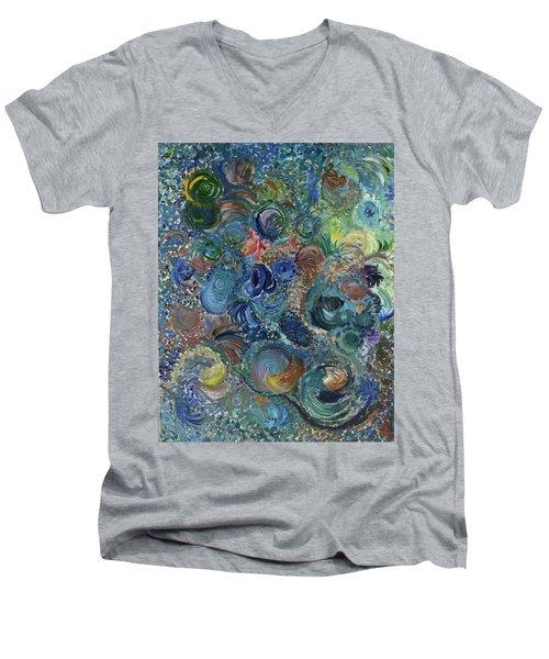 Splendid Mystery Men's V-Neck T-Shirt
