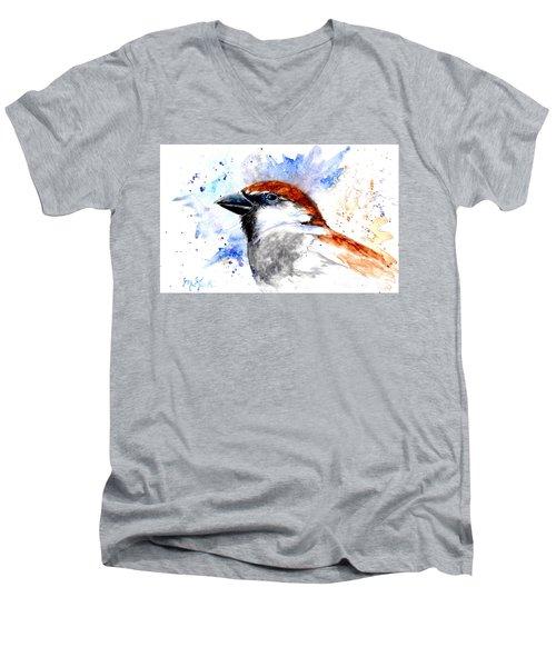 Splendid Sparrow Men's V-Neck T-Shirt
