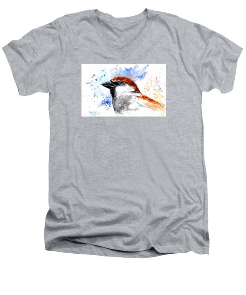 Splendid Sparrow Men's V-Neck T-Shirt