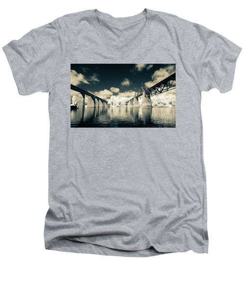 Congaree Trestles Cayce, Sc Men's V-Neck T-Shirt