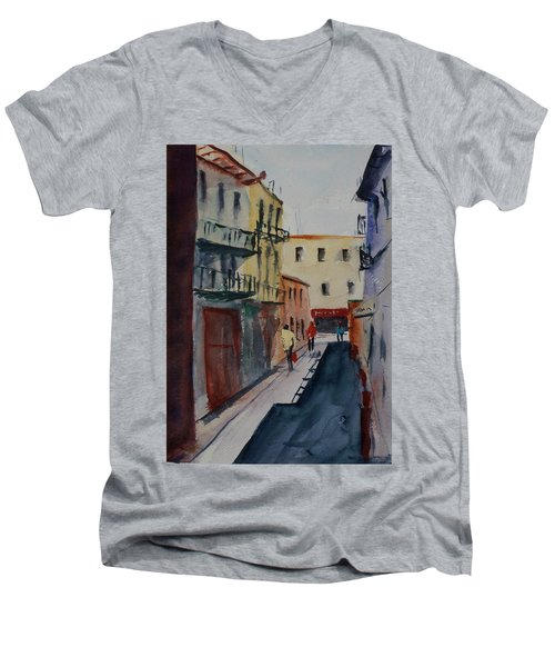 Spofford Street2 Men's V-Neck T-Shirt