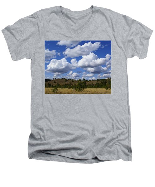Spokane Cloudscape Men's V-Neck T-Shirt