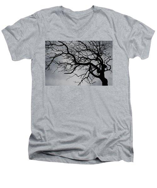 Spooky Tree Men's V-Neck T-Shirt