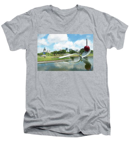 Spoon And Cherry Men's V-Neck T-Shirt