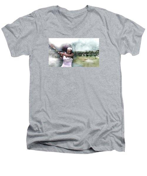 Sports 18 Men's V-Neck T-Shirt by Jani Heinonen