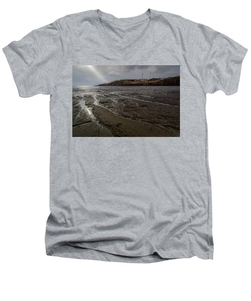 Spotlight On Iceland Men's V-Neck T-Shirt