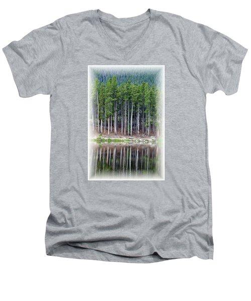 Sprague Lake 03 Men's V-Neck T-Shirt