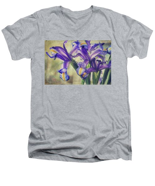 Men's V-Neck T-Shirt featuring the photograph Spread Love by Laurie Search
