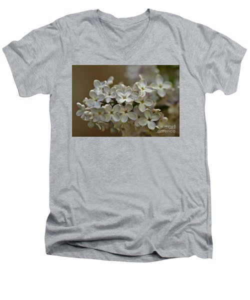 Men's V-Neck T-Shirt featuring the photograph Spring 2016 14 by Cendrine Marrouat