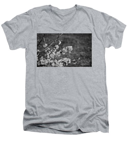 Men's V-Neck T-Shirt featuring the photograph Spring 2016 9 by Cendrine Marrouat