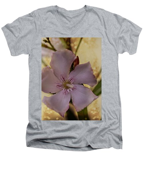 Men's V-Neck T-Shirt featuring the photograph Spring by Annette Berglund