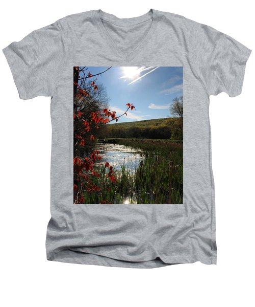 Spring Awakening Men's V-Neck T-Shirt