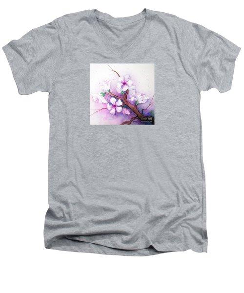 Spring Blooms Men's V-Neck T-Shirt