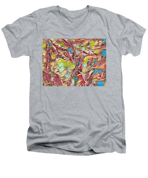 Spring Breaks Forth Men's V-Neck T-Shirt