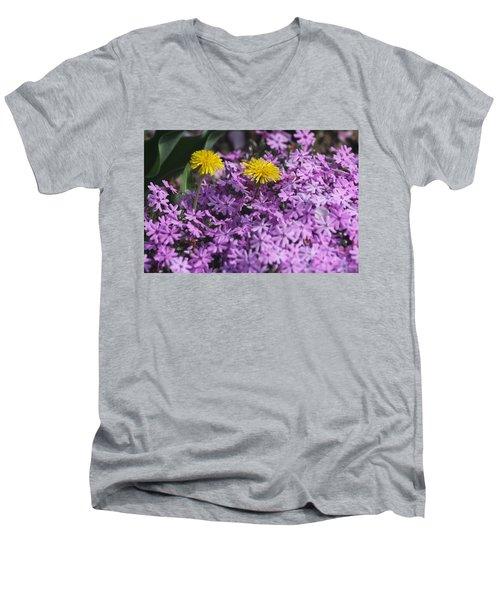 Spring Carousel Men's V-Neck T-Shirt