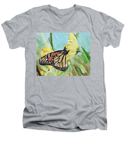 Spring Colors Men's V-Neck T-Shirt
