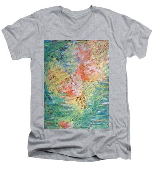 Spring Ecstasy Men's V-Neck T-Shirt