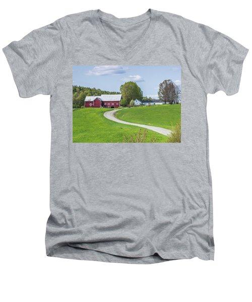 Spring Farm Men's V-Neck T-Shirt