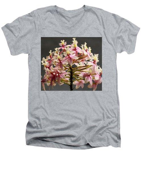 Spring Flower Men's V-Neck T-Shirt by Christopher Woods