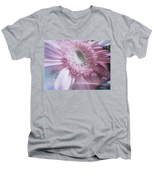 Men's V-Neck T-Shirt featuring the photograph Spring Flower by Robert Knight