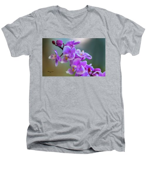 Men's V-Neck T-Shirt featuring the photograph Spring For You by Marvin Spates