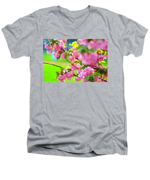 Spring Glory Men's V-Neck T-Shirt