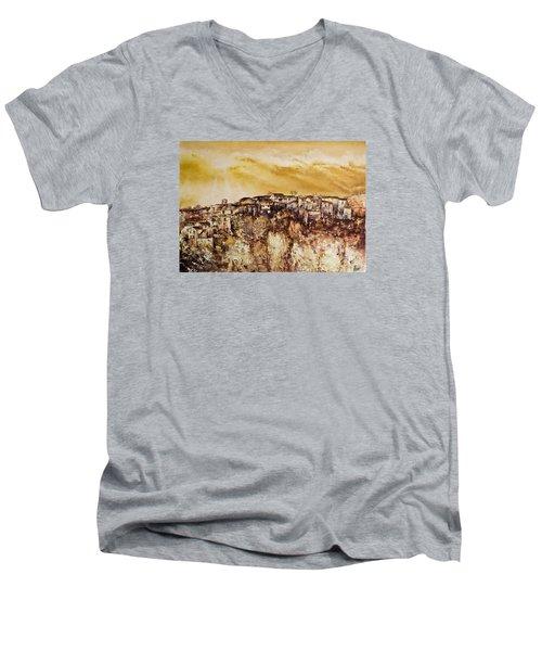 Spring Heat Men's V-Neck T-Shirt