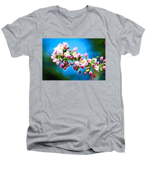 Spring Impressions Men's V-Neck T-Shirt