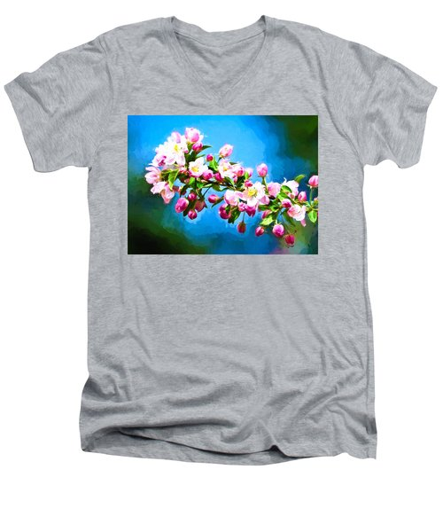 Spring Impressions Men's V-Neck T-Shirt