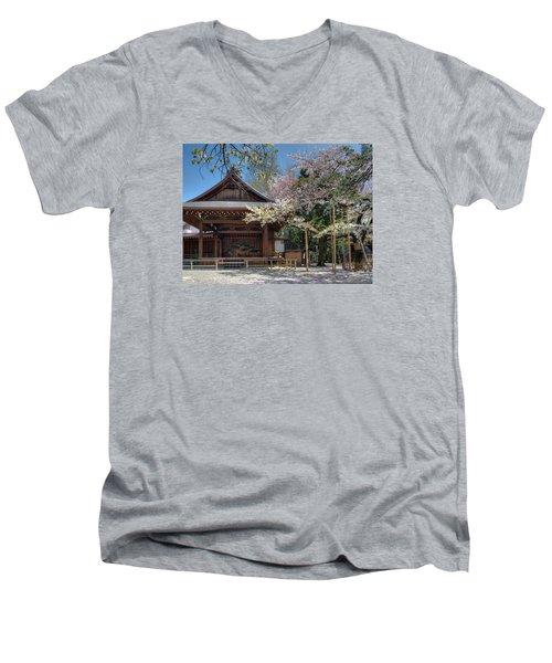 Spring In Edo Men's V-Neck T-Shirt