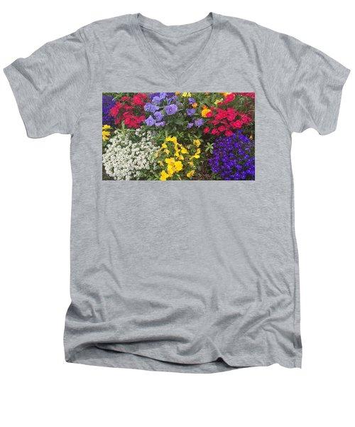 Spring In My Step Men's V-Neck T-Shirt