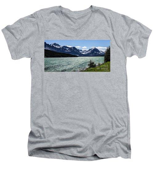 Many Glacier Men's V-Neck T-Shirt