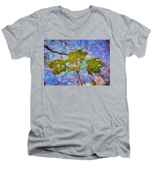 Spring Is In The Air-2 Men's V-Neck T-Shirt