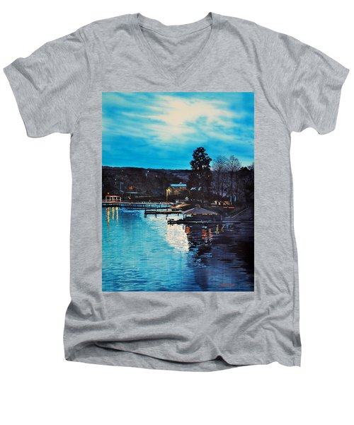 Spring Lake Nocturn Men's V-Neck T-Shirt