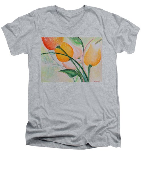 Spring Light Men's V-Neck T-Shirt
