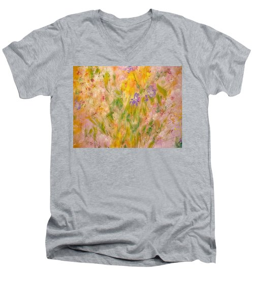 Spring Meadow Men's V-Neck T-Shirt