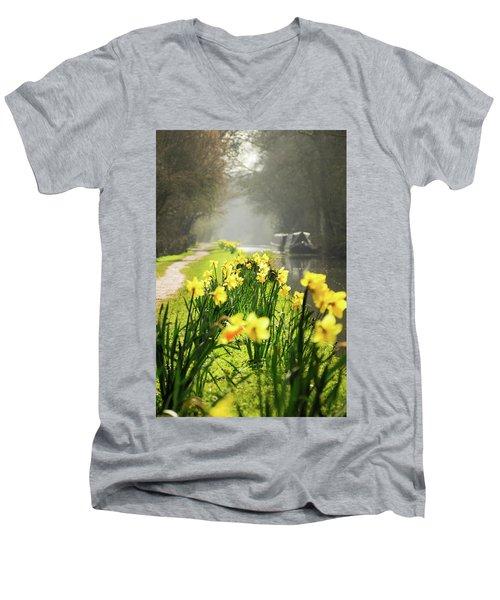 Spring Morning Men's V-Neck T-Shirt