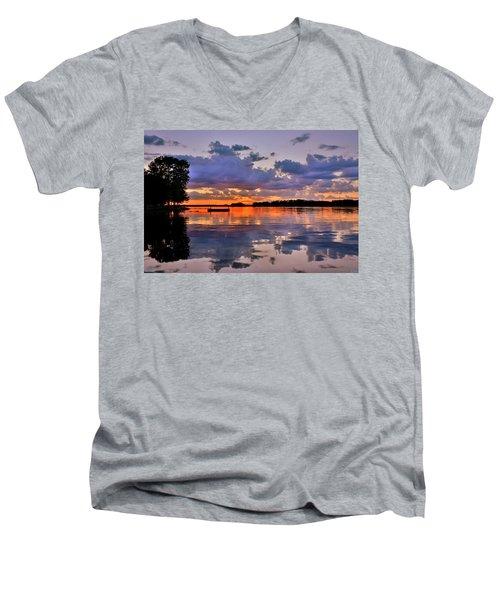 Spring Reflections Men's V-Neck T-Shirt