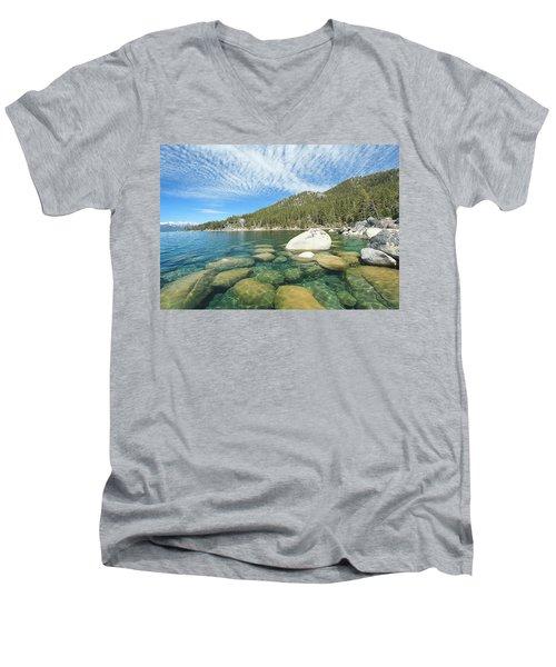 Spring Shores  Men's V-Neck T-Shirt
