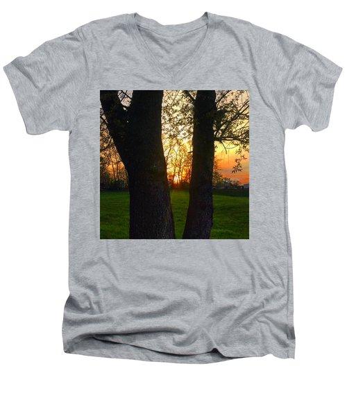 Spring Sunset 2018 Men's V-Neck T-Shirt