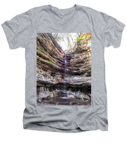 Spring Trickling In Men's V-Neck T-Shirt
