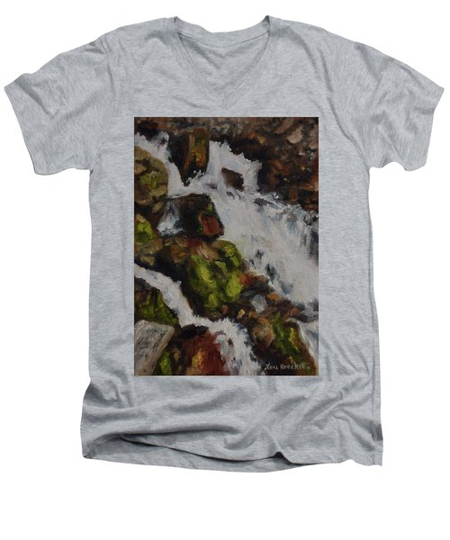 Springs Close Up Men's V-Neck T-Shirt