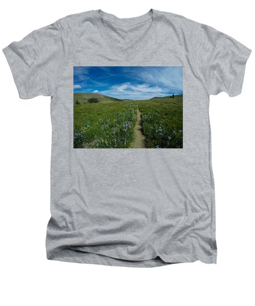 Spring's Sprung Men's V-Neck T-Shirt