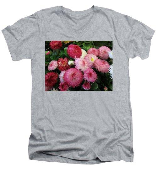 Springsign Men's V-Neck T-Shirt