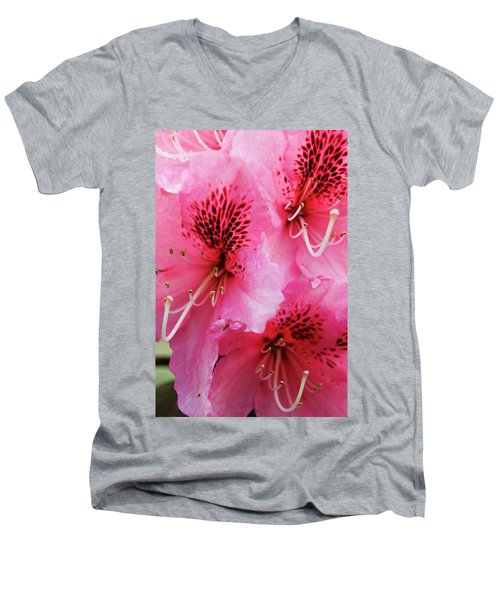Springtime Azalea Men's V-Neck T-Shirt